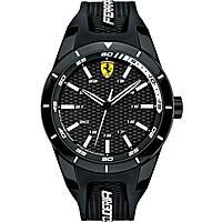 watch multifunction man Scuderia Ferrari Red FER0830249