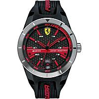 watch multifunction man Scuderia Ferrari Red FER0830253