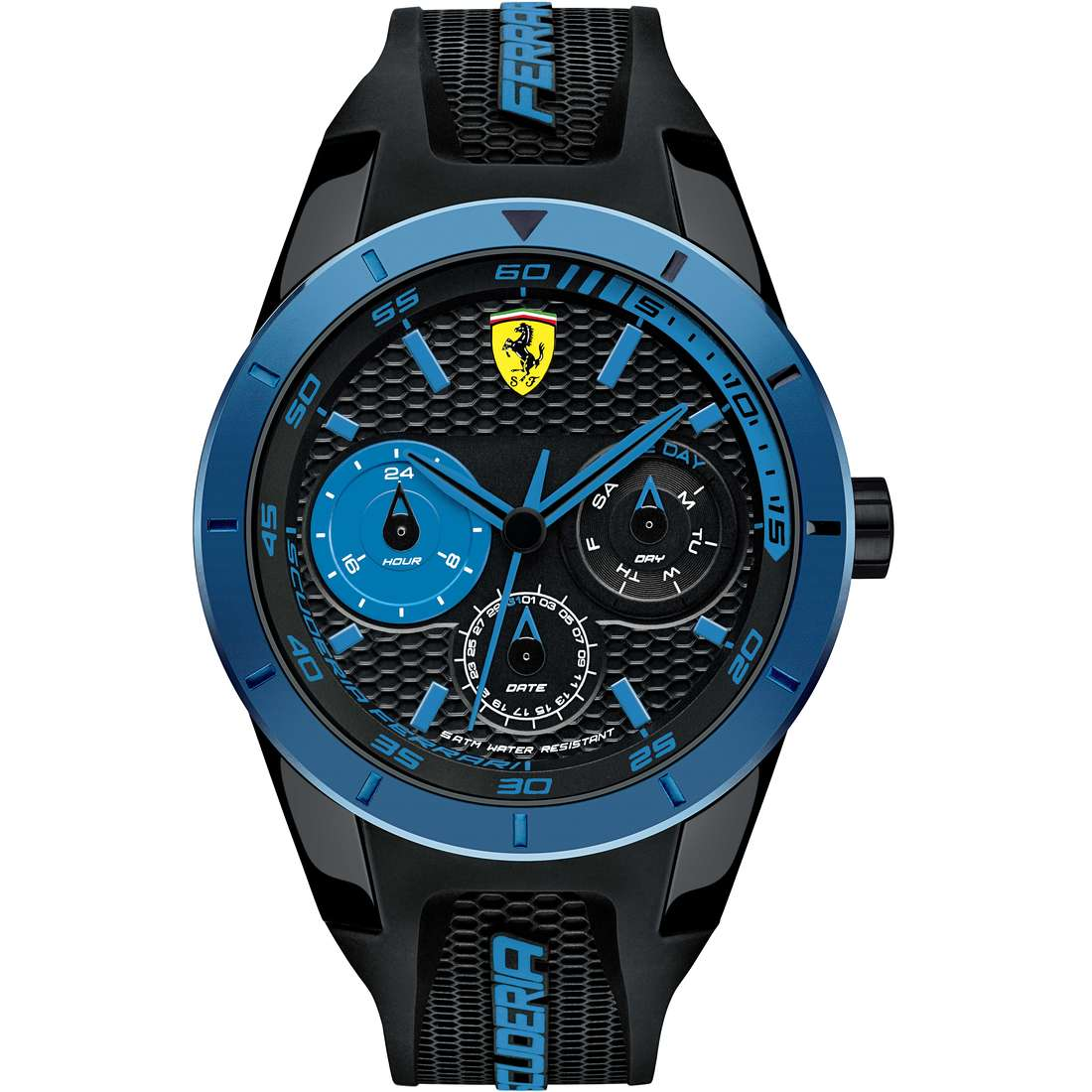 watch multifunction man Scuderia Ferrari Red FER0830256