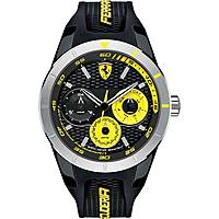 watch multifunction man Scuderia Ferrari Red FER0830257