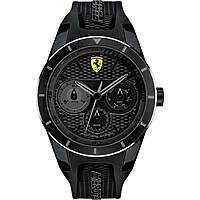 watch multifunction man Scuderia Ferrari Red FER0830259