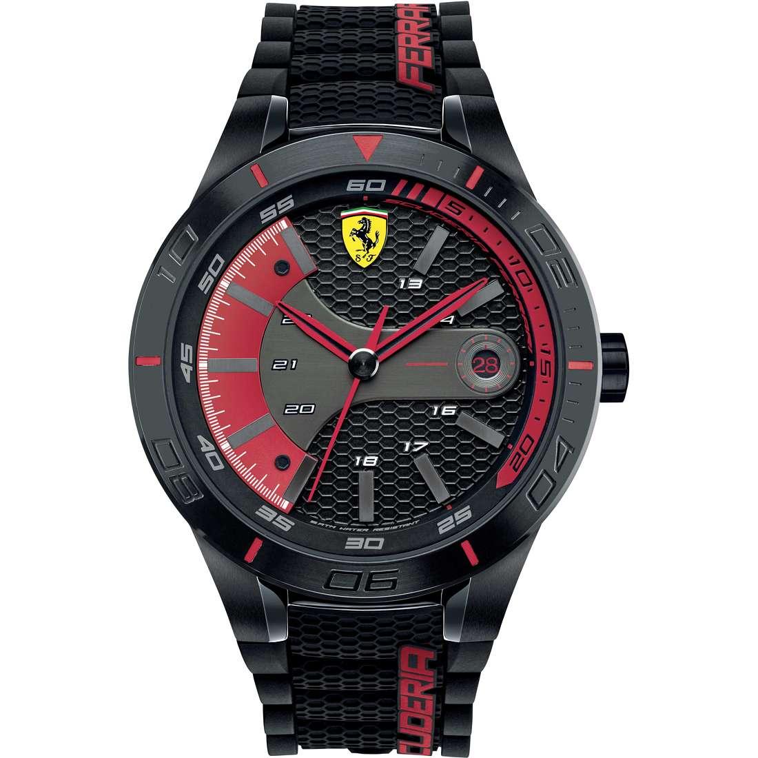watch multifunction man Scuderia Ferrari Red FER0830265
