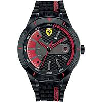 watch multifunction man Scuderia Ferrari Red FER0830265