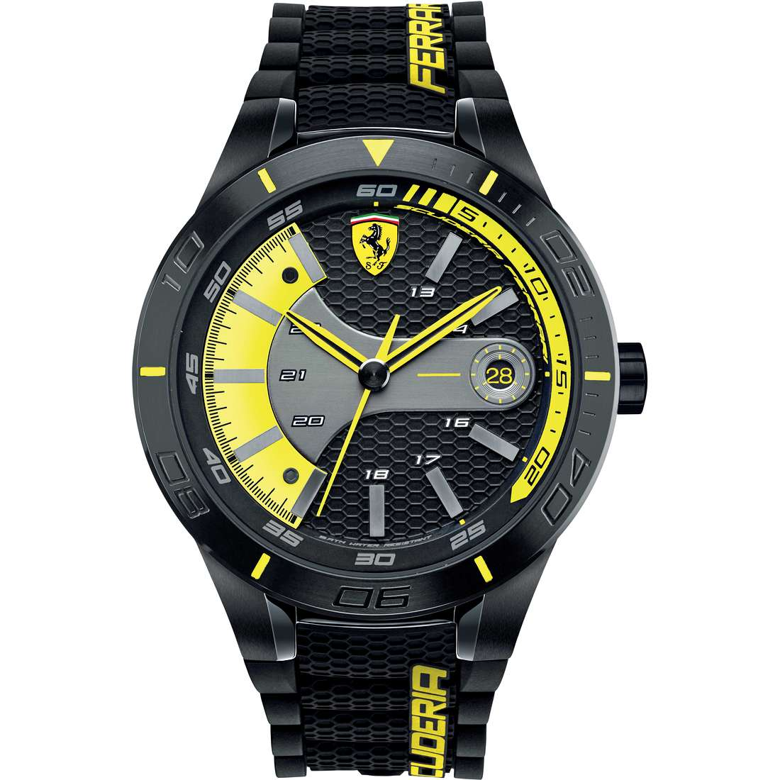 watch multifunction man Scuderia Ferrari Red FER0830266