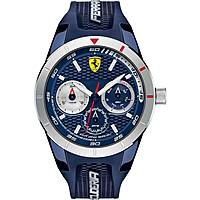 watch multifunction man Scuderia Ferrari Redrev FER0830436