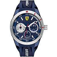 watch multifunction man Scuderia Ferrari Redrev FER0830436