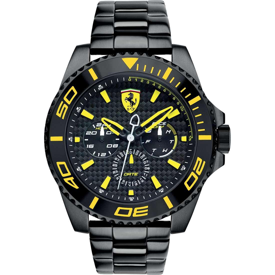 watch multifunction man Scuderia Ferrari Xx Kers FER0830309