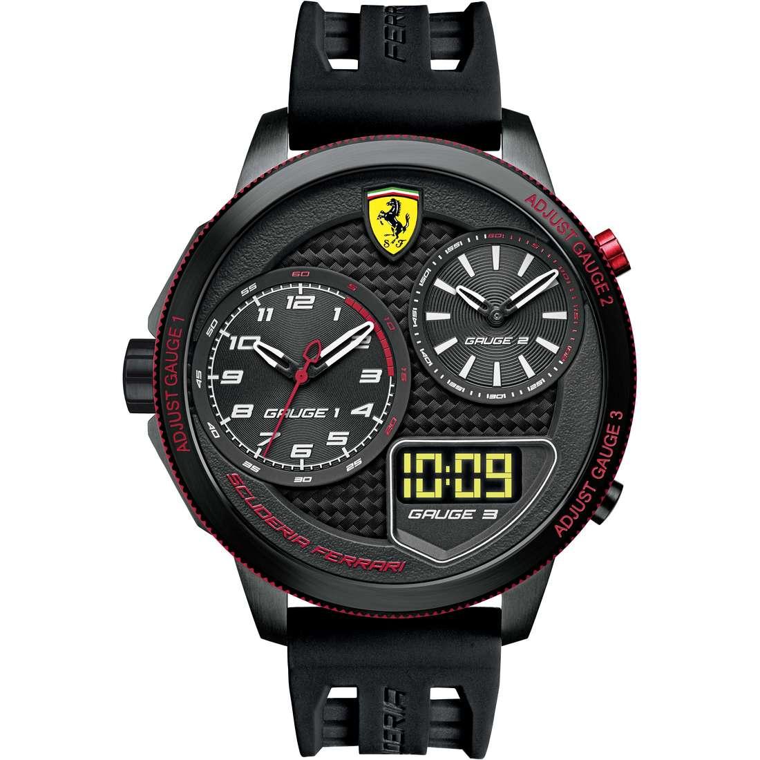 watch multifunction man Scuderia Ferrari Xx Kers FER0830318