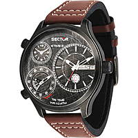 watch multifunction man Sector Traveller R3251504003