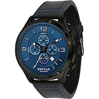 watch multifunction man Sector Traveller R3271804001