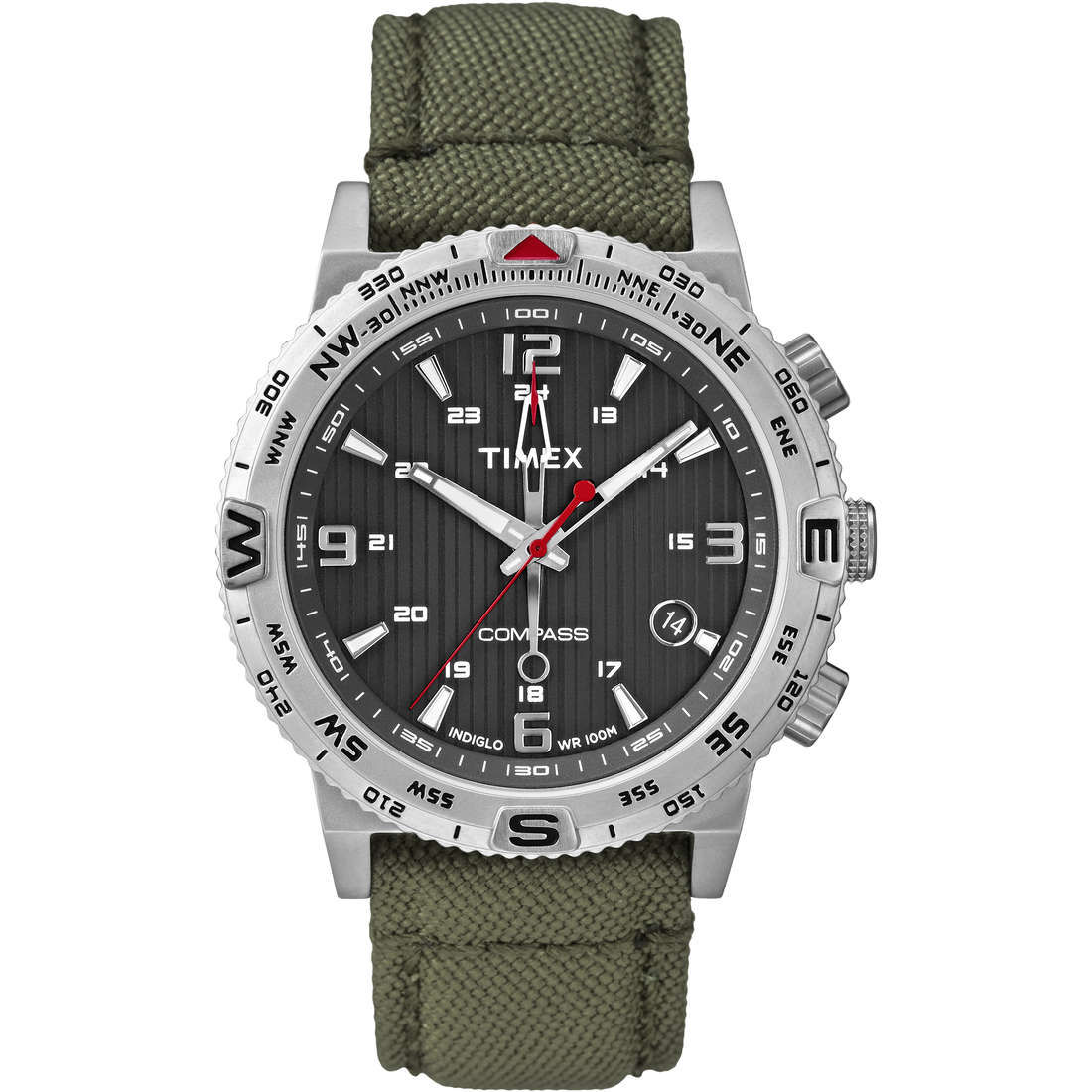 watch multifunction man Timex Iq Compass T2P286