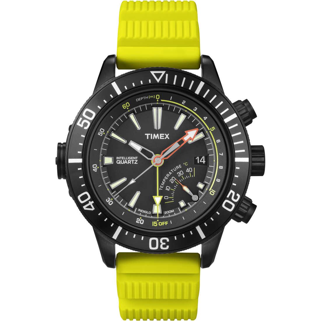 watch multifunction man Timex Iq Profondimetro T2N958