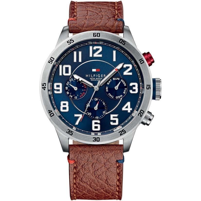 watch multifunction man Tommy Hilfiger Trent THW1791066