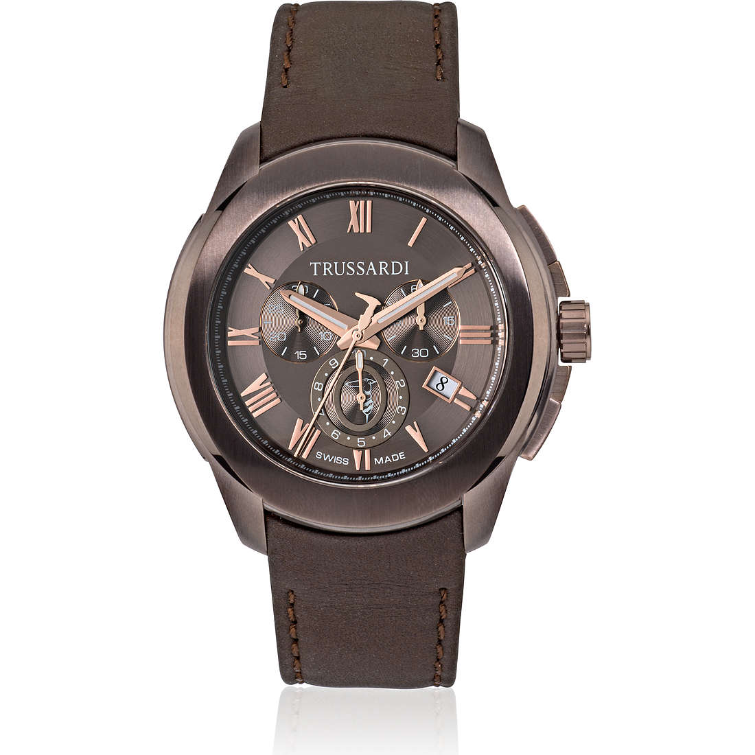 watch multifunction man Trussardi T01 R2471100001