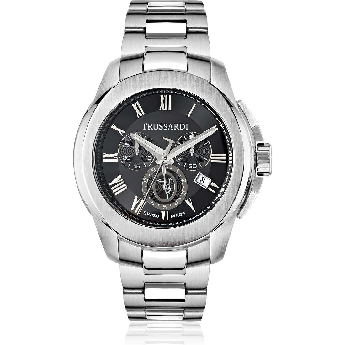 watch multifunction man Trussardi T01 R2473100002