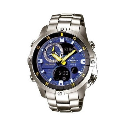 watch multifunction unisex Casio EDIFICE EMA-100D-2AVUEF