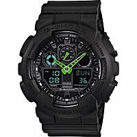 watch multifunction unisex Casio G-SHOCK GA-100C-1A3ER