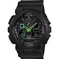 watch multifunction unisex Casio G-SHOCK GA-100C-1A3ER