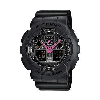 watch multifunction unisex Casio G-SHOCK GA-100C-1A4ER