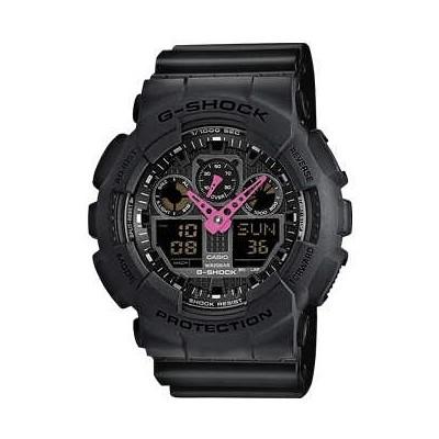watch multifunction unisex Casio G-SHOCK GA-100C-1A4ER