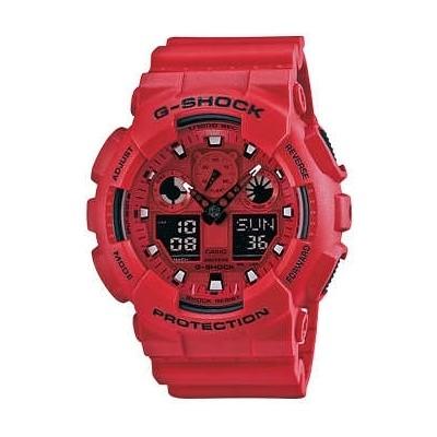 watch multifunction unisex Casio G-SHOCK GA-100C-4AER