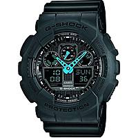 watch multifunction unisex Casio G-SHOCK GA-100C-8AER
