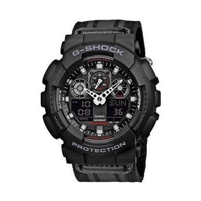 watch multifunction unisex Casio G-SHOCK GA-100MC-1AER