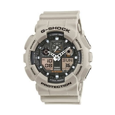 watch multifunction unisex Casio G-SHOCK GA-100SD-8AER