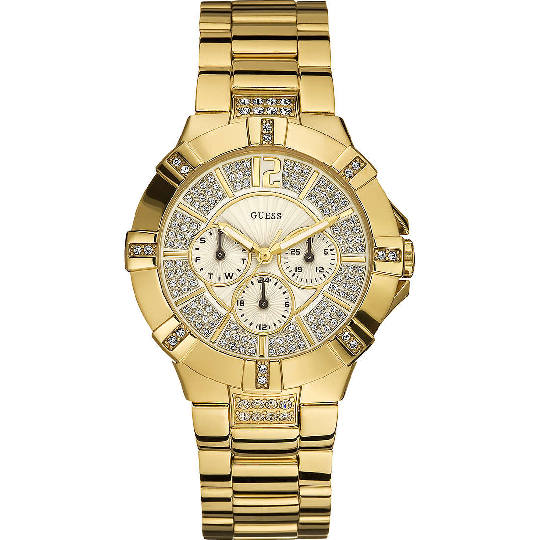 watch multifunction unisex Guess W13573L1