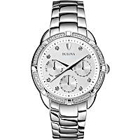 watch multifunction woman Bulova Diamanti 96W195