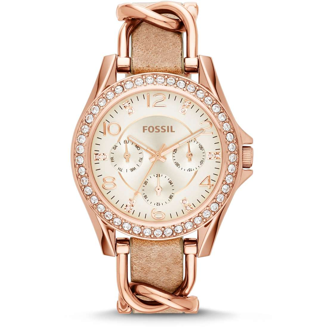 watch multifunction woman Fossil Riley ES3466