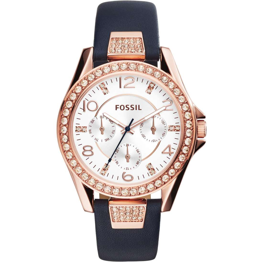 watch multifunction woman Fossil Riley ES3887