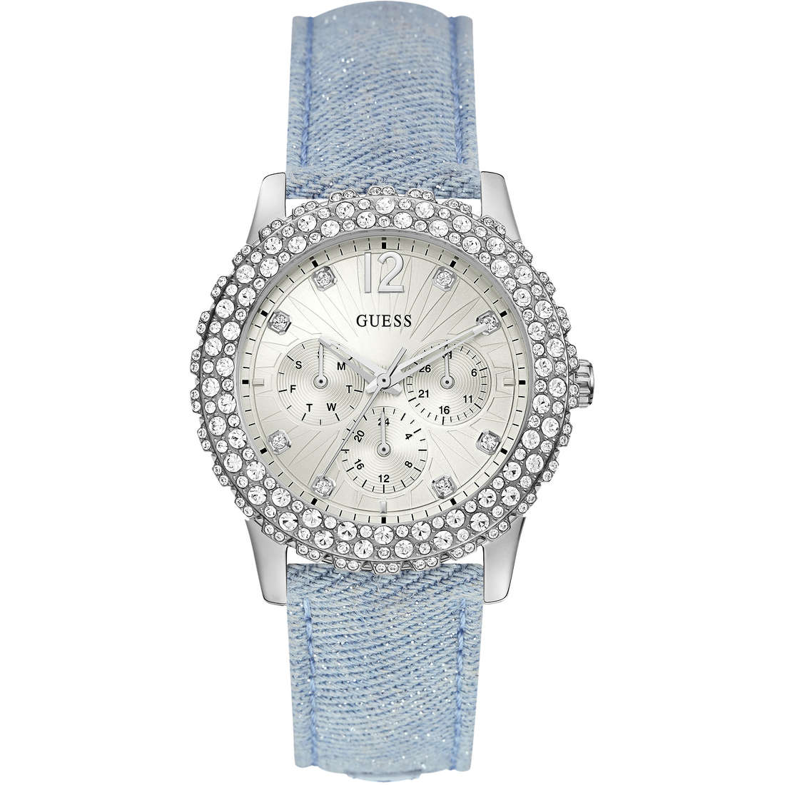 watch multifunction woman Guess Dazzler W0336L7