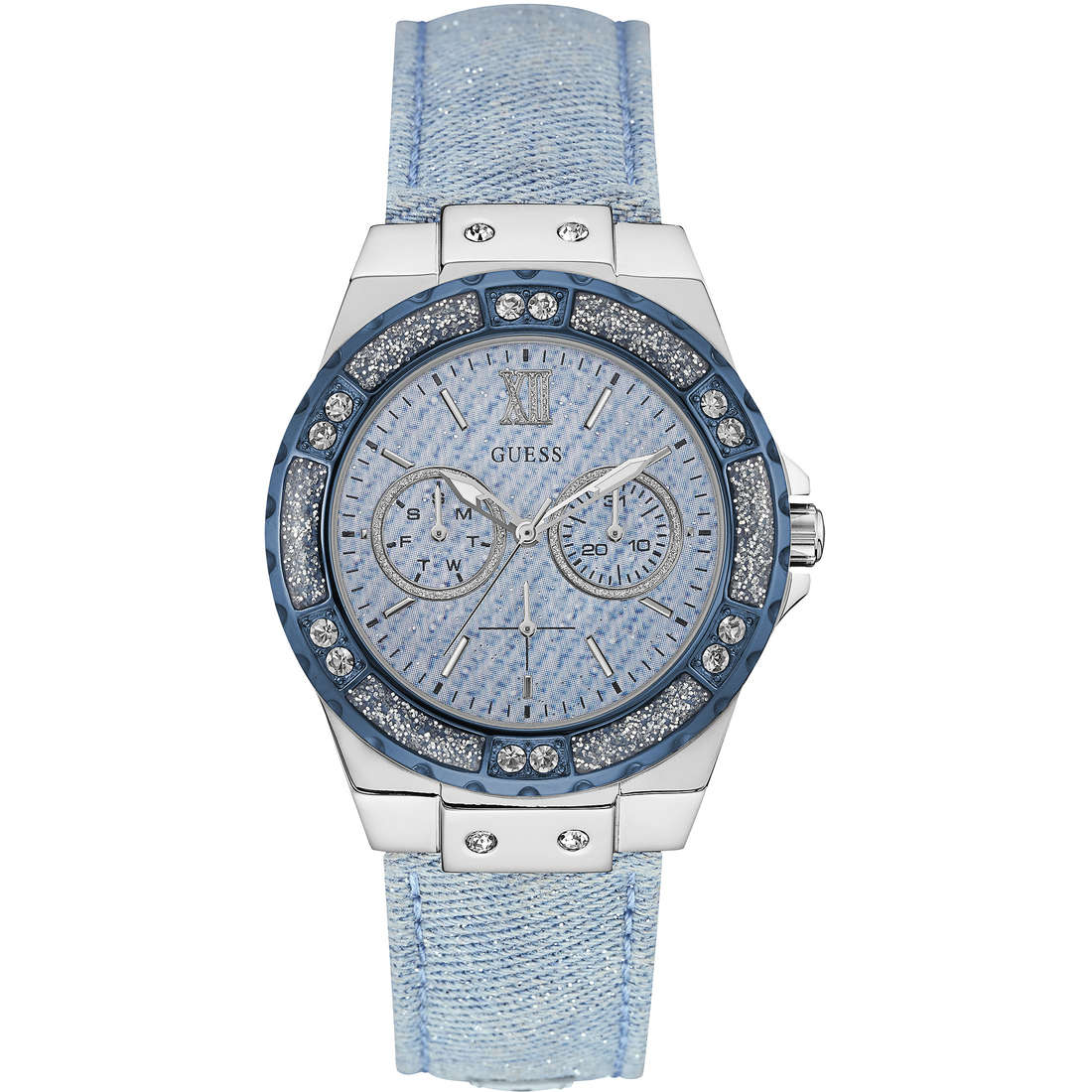 watch multifunction woman Guess Limelight W0775L1