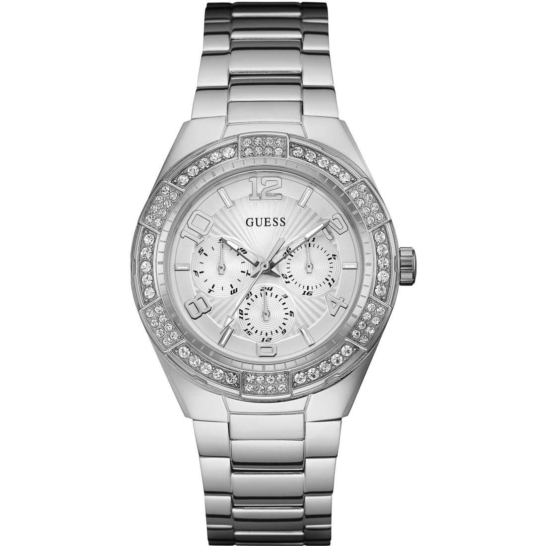 watch multifunction woman Guess Luna W0729L1