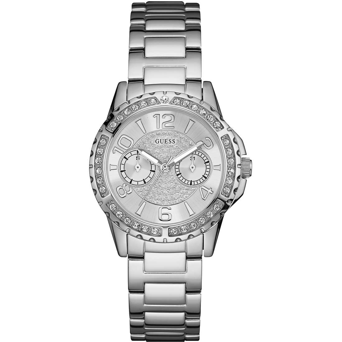 watch multifunction woman Guess Sassy W0705L1