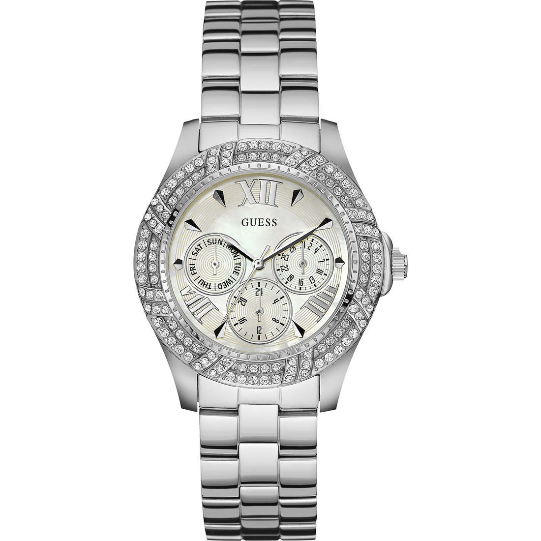 watch multifunction woman Guess Shimmer W0632L1