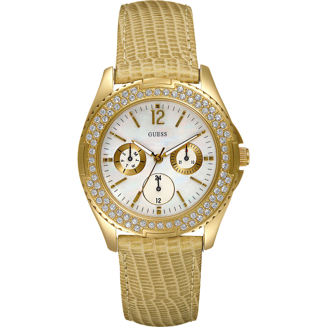 watch multifunction woman Guess W11567L2