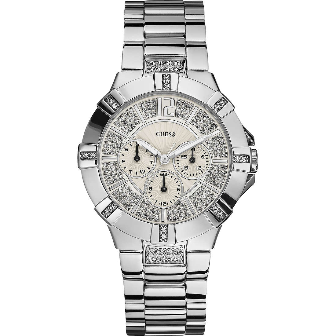watch multifunction woman Guess W12080L1