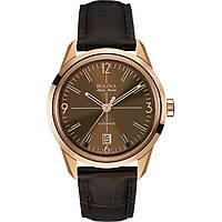 watch only time man Bulova Accu Swiss Murren 64B124
