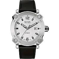 watch only time man Bulova Accu Swiss Percheron 63B191
