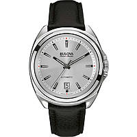 watch only time man Bulova Accu Swiss Telc 63B184