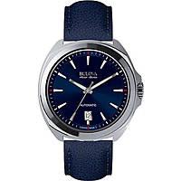 watch only time man Bulova Accu Swiss Telc 63B185