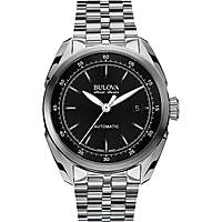 watch only time man Bulova Accu Swiss Tellaro 63B193