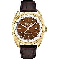 watch only time man Bulova Accu Swiss Tellaro 64B127