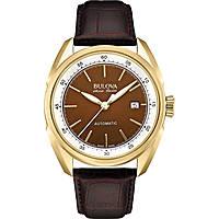 watch only time man Bulova Accu Swiss Tellaro 64B127