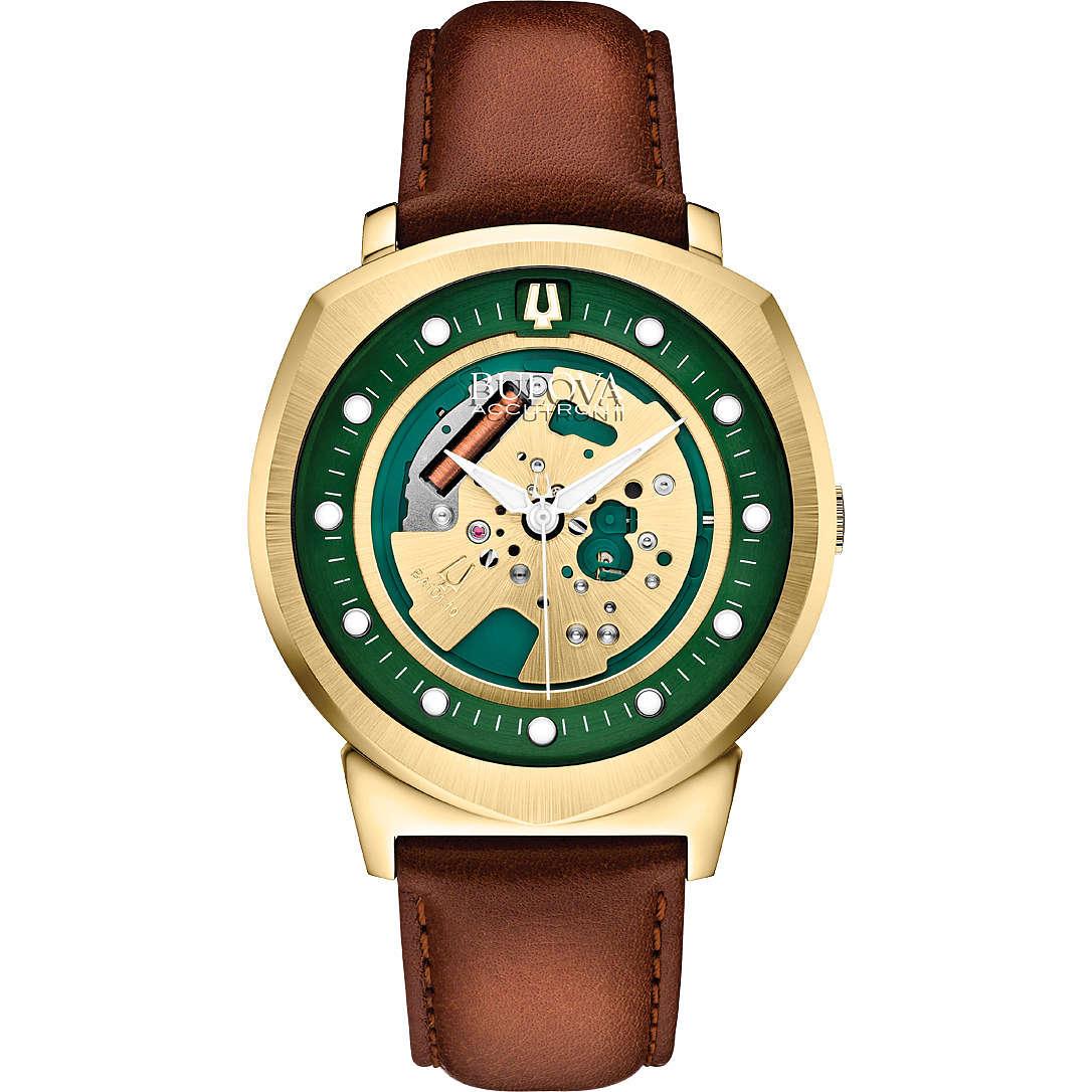 watch only time man Bulova Accutron II Alpha 97A110