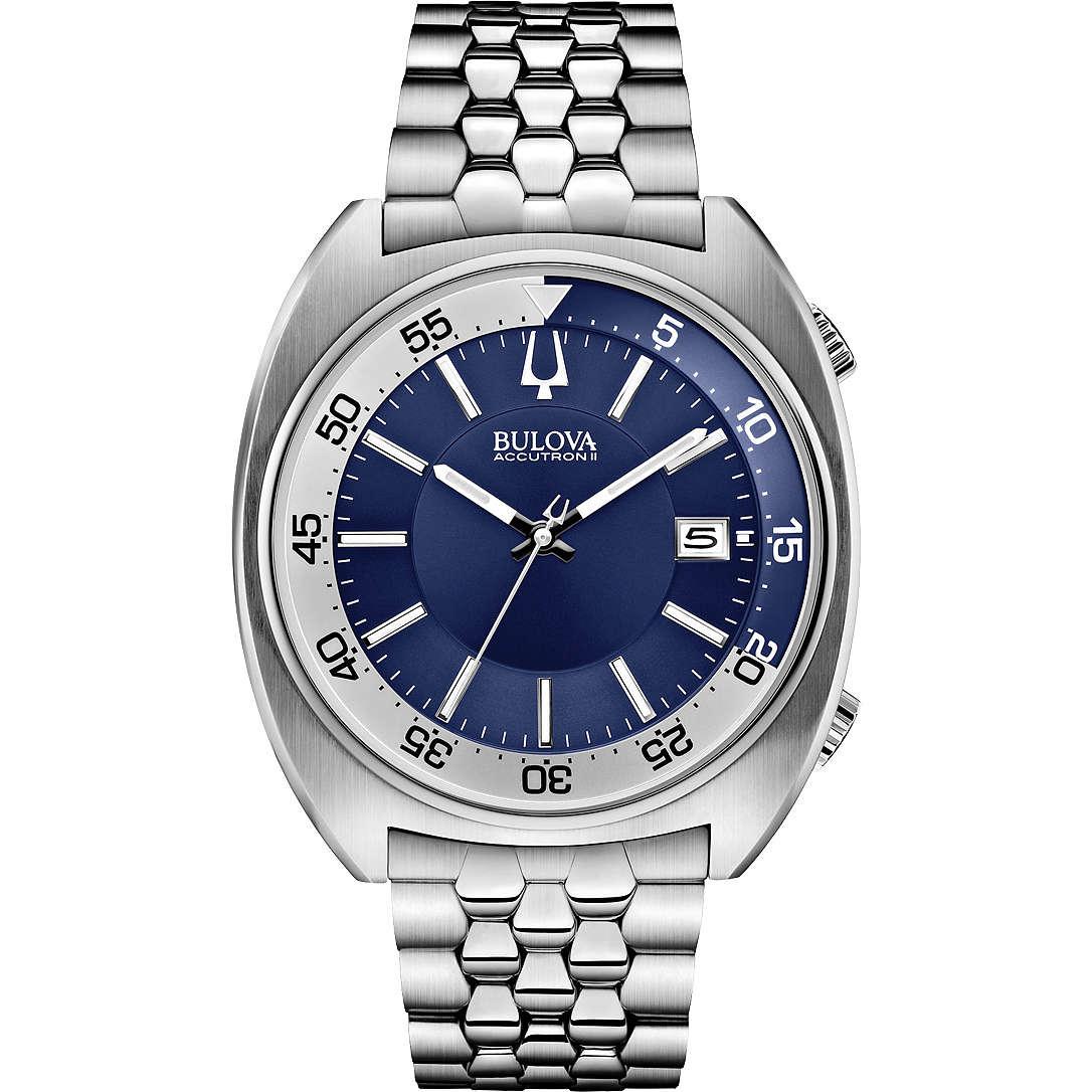 watch only time man Bulova Accutron II Snorkel 96B209