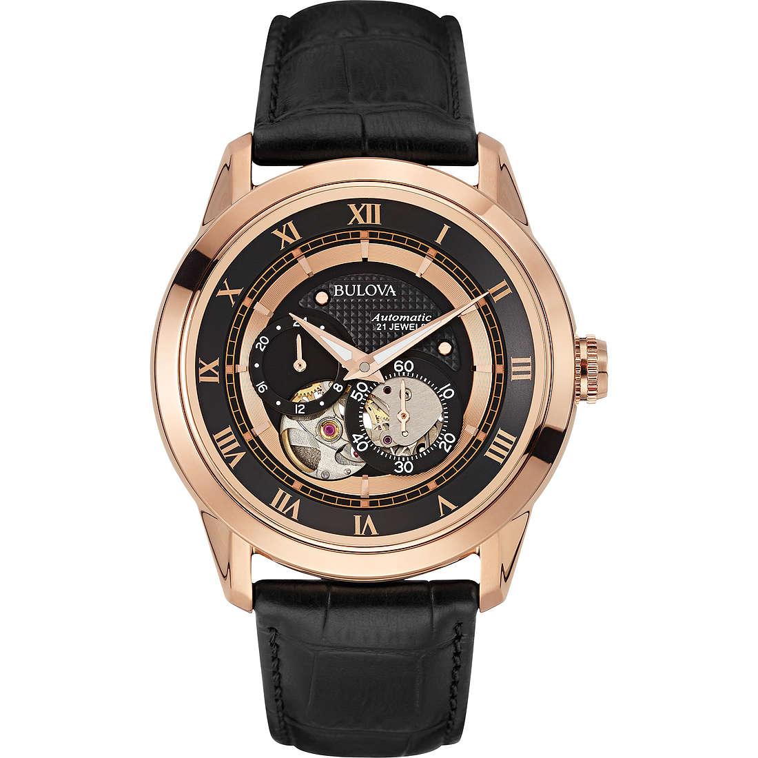 watch only time man Bulova Bva Series 97A116