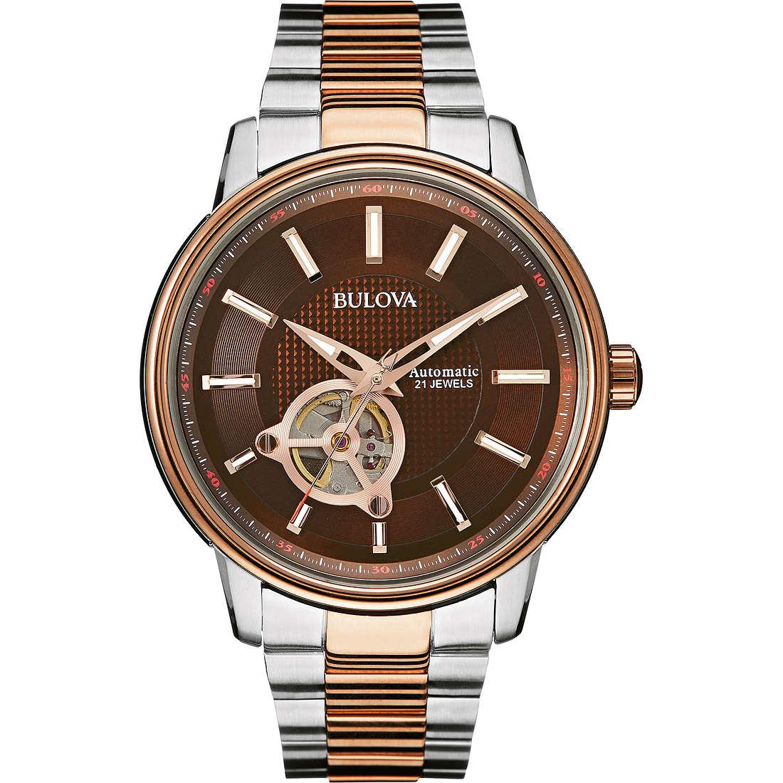 watch only time man Bulova Bva Series 98A140